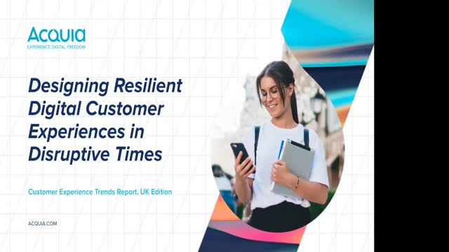 Designing Resilient Digital CX in Disruptive Times