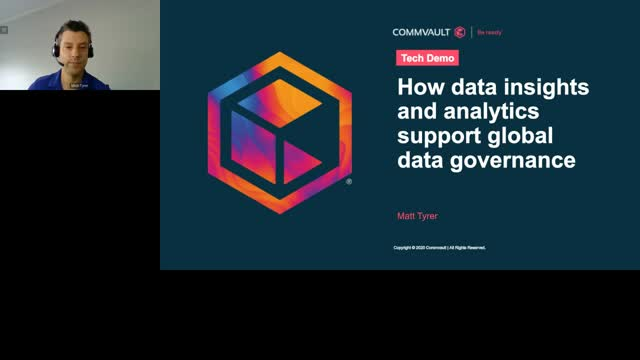 How data insights and analytics support global data governance