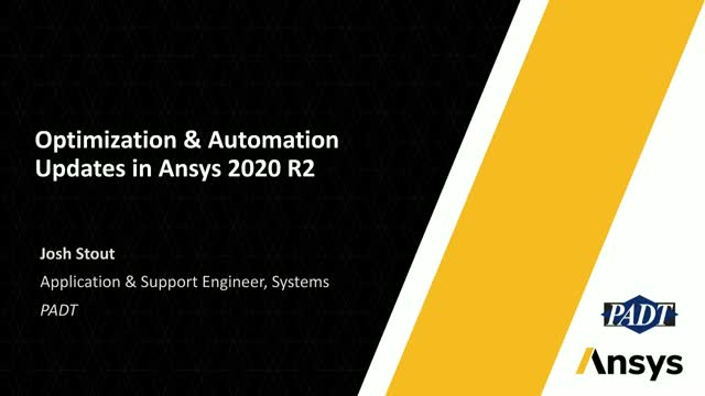 Optimization & Automation Updates in Ansys 2020 R2