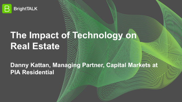 The Impact of Technology on Real Estate
