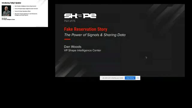 Fake Reservation Story: The Power of Signals & Sharing Data to Stop Application