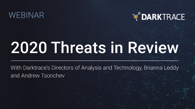 2020 Threats in Review
