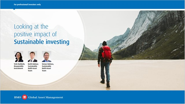 Looking at the positive impact of Sustainable investing