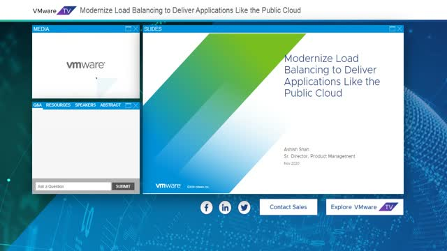 Modernize Load Balancing to Deliver Applications Like the Public Cloud