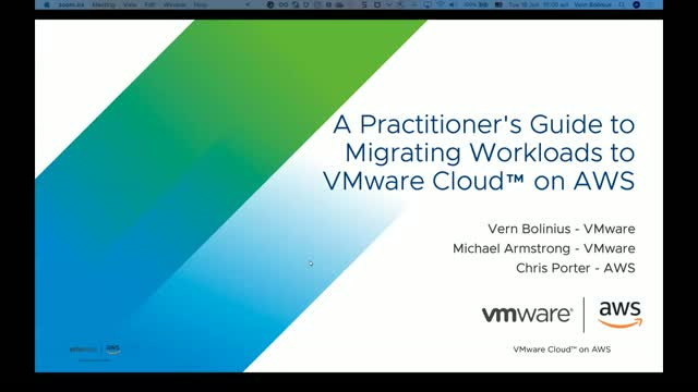 A Practitioner's Guide to Migrating Workloads to VMware Cloud™ on AWS