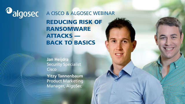Reducing Risk of Ransomware Attacks - Back to Basics