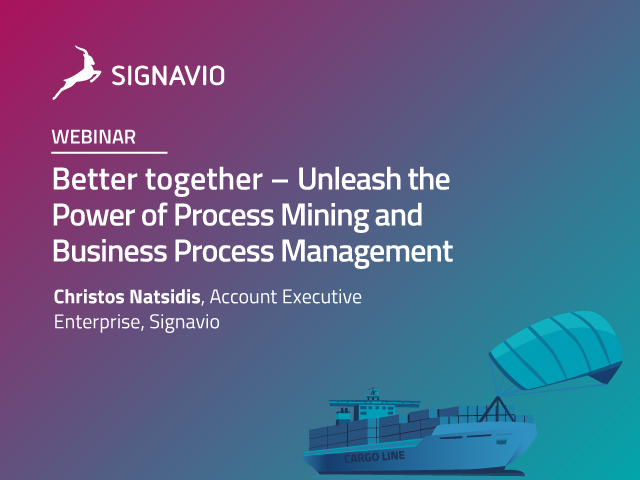 Better together – Unleash the Power of Process Mining and BPM