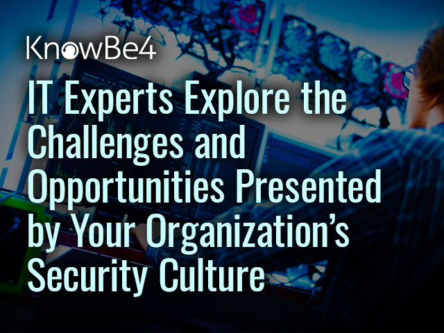 IT Experts Explore the Challenges and Opportunities Presented by Your Organizati