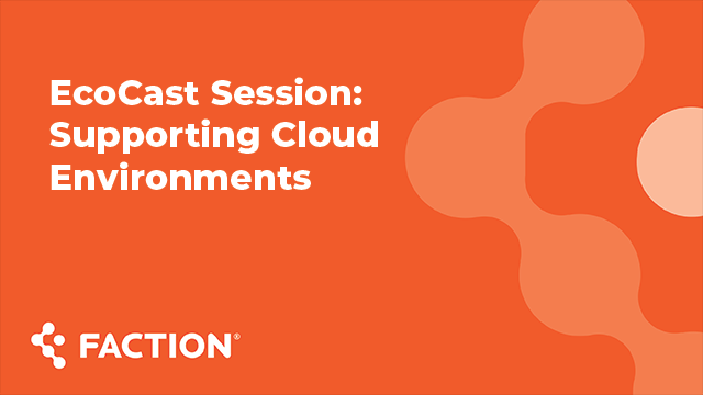 ActualTech Media EcoCast: Supporting Cloud Environments