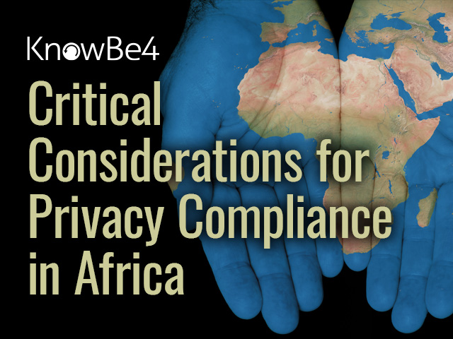 Critical Considerations for Privacy Compliance in Africa