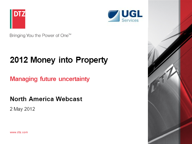 Money into Property North America 2012