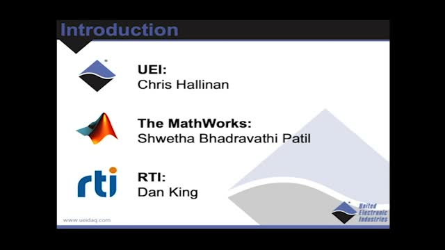Keep your Vehicle Deployment On Course - Masterclass with UEI, Mathworks and RTI