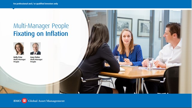 Multi-Manager People: Fixating on Inflation