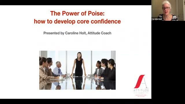 The Power of Poise: how to develop core confidence