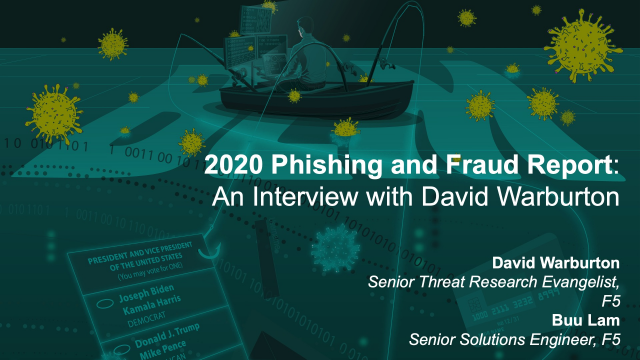 2020 Phishing and Fraud Report: An Interview with David Warburton