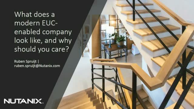 What Does a Modern EUC-Enabled Company Look Like, and Why Should You Care?