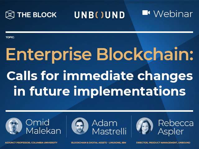 Enterprise Blockchain: Calls for immediate changes in future implementations