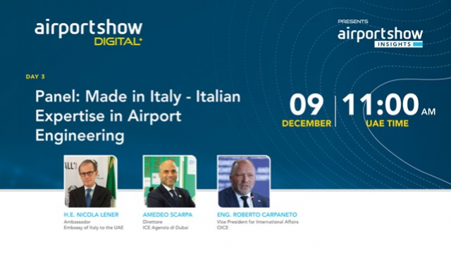 Panel: Made in Italy – Italian Expertise in Airport Engineering