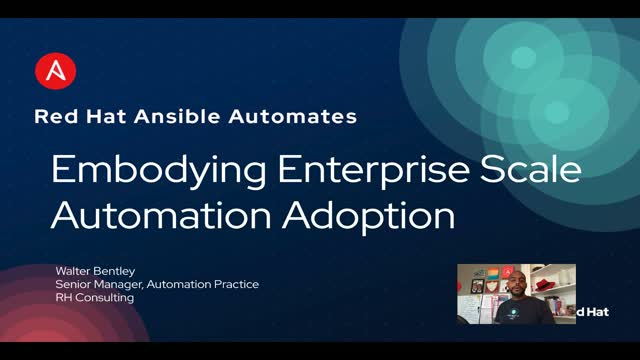 Adopting automation at enterprise scale