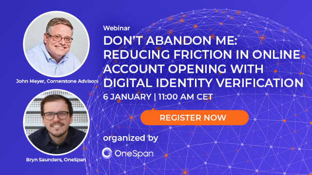 Reducing Friction in Online Account Opening with Digital Identity Verification