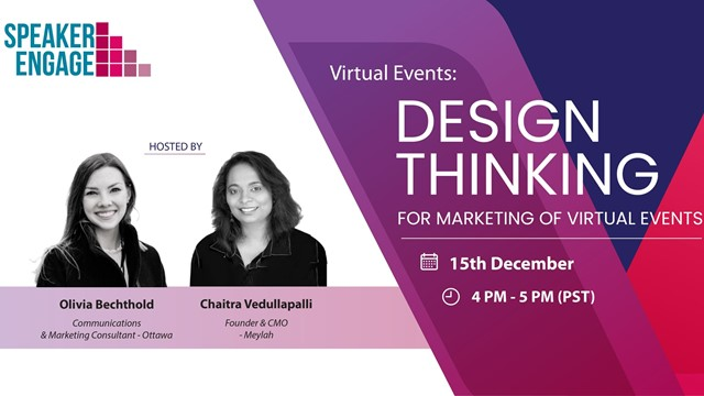 Design Thinking for Marketing of Virtual Events