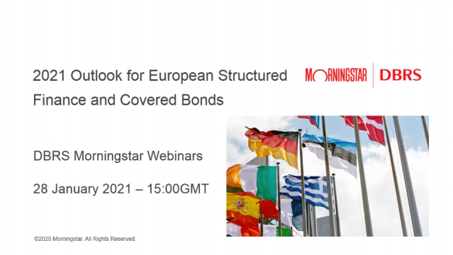 2021 Outlook for European Structured Finance and Covered Bonds