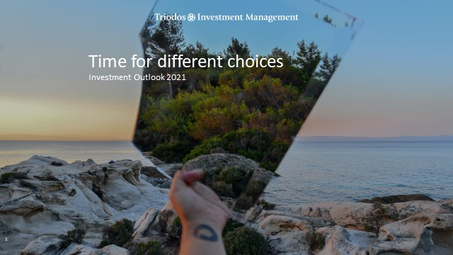 Time for different choices – Investment Outlook