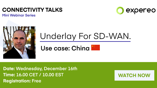 Underlay For SD-WAN | Use Case: China