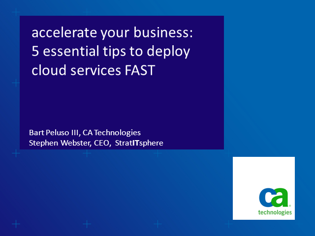 Accelerate Your Business: 5 Essential Tips to Quickly Deploy Cloud Services