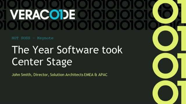 2020: The Year Software Took Center Stage