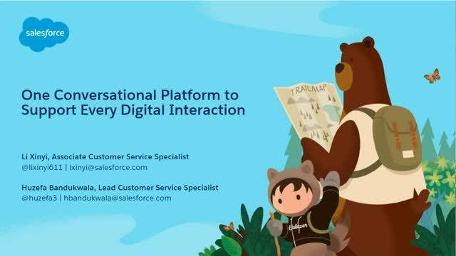 Deliver a connected digital journey by leveraging conversational platforms