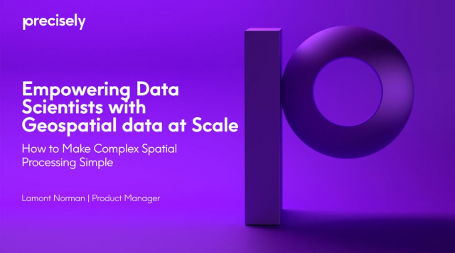 Data Science Series: How to Make Complex Spatial Processing Simple