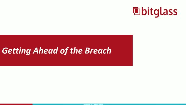 Getting Ahead of the Next Cyber Breach