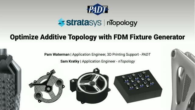 Optimize Additive Topology with FDM Fixture Generator