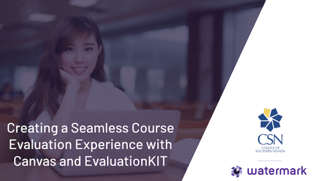 Creating a Seamless Course Evaluation Experience with Canvas and EvaluationKIT