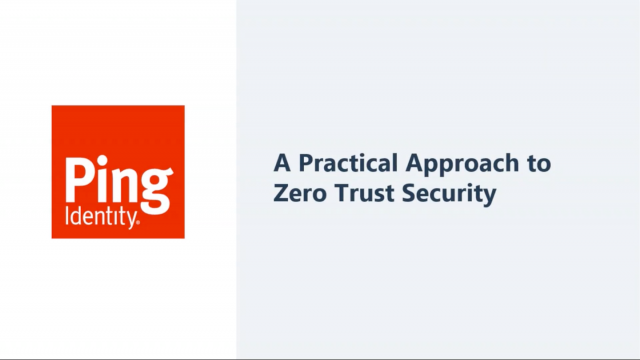 A Practical Approach to Zero Trust