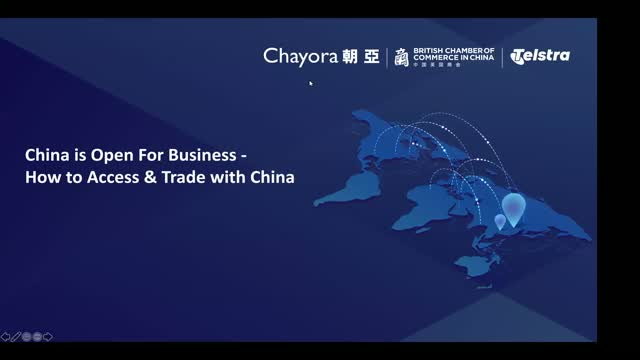 China's Open for Business: How British Businesses can Access & Trade with China