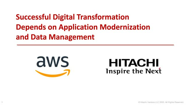 Successful Digital Transformation Depends on Application and Data Modernization