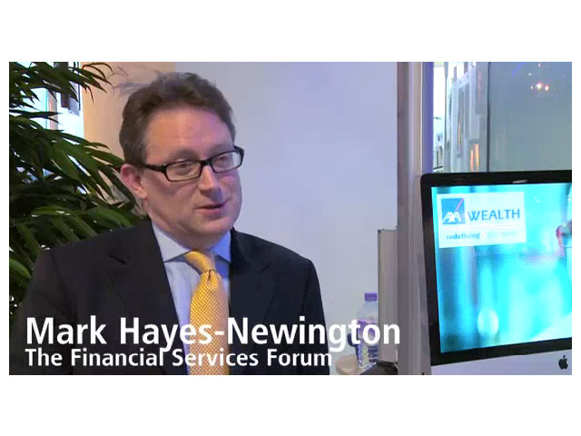 Mark Hayes-Newington, The Financial Services Forum