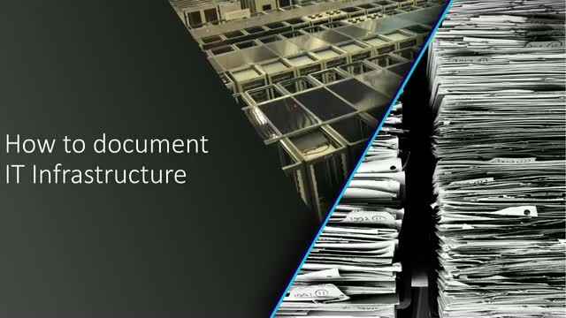 How To Document IT Infrastructure