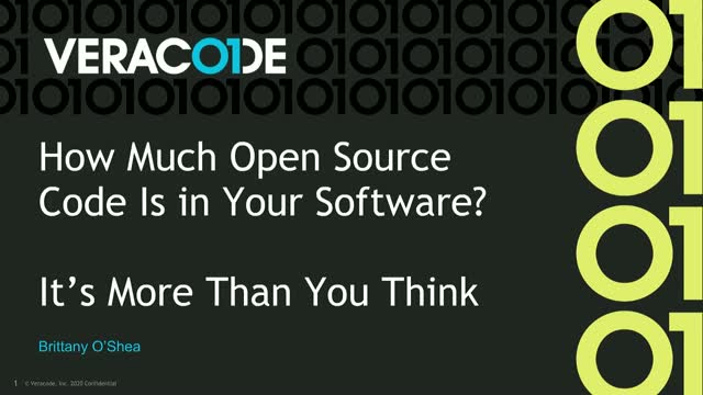 How Much Open Source Code Is in Your Software? It's More Than You Think