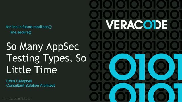 So Many AppSec Testing Types, So Little Time