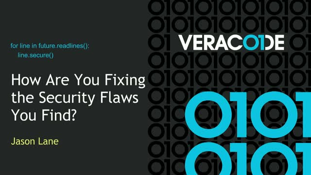 How Are You Fixing the Security Flaws You Find?