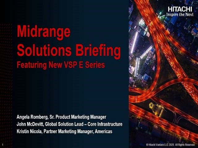 Mid-Range Solutions for your Customers