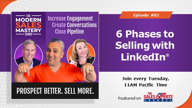 The Modern Sales Mastery Show - Episode 2