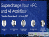Supercharge Your HPC and AI Workflow in Federal