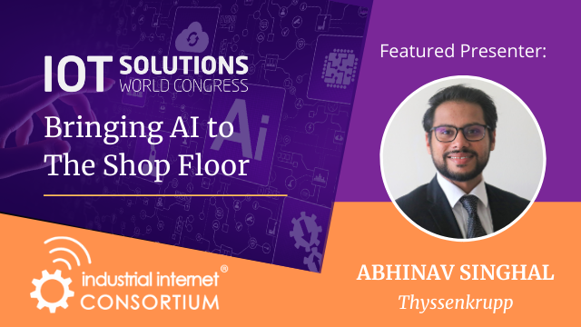 Bringing AI to the Shop floor