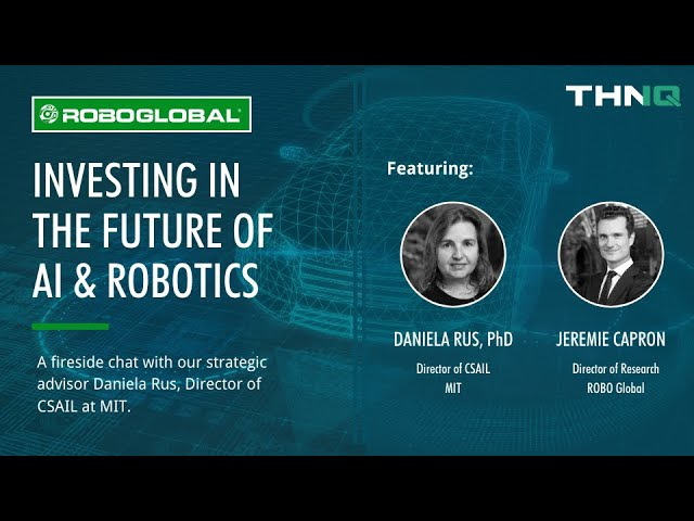A Conversation with MIT's Daniela Rus on The Future of Robotics & AI Investing