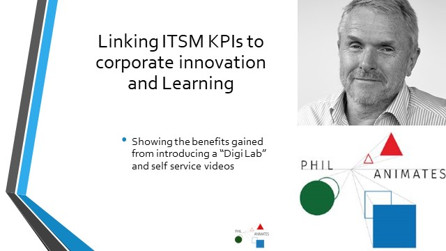 Link ITSM KPIs to corporate L&D and Innovation