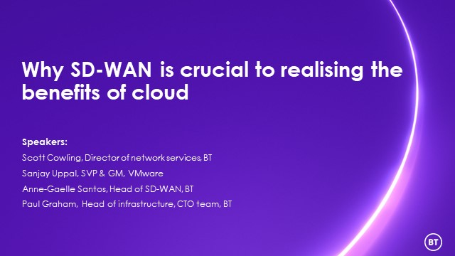 Why SD-WAN is crucial to realising the benefits of cloud